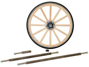 Wood Wagon Wheels
