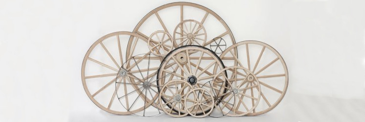 Real Wagon Wheels, Real Cannon Wheels, Real Steel Wagon Wheels